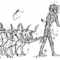 Пастух. Рельеф из Меира
