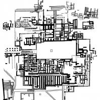 План Кносского дворца