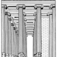 Храм Артемиды в Эфесе. Реконструкция