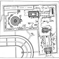 План святилища Асклепия в Эпидавре