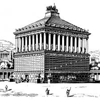 Галикарнасский Мавзолей. Реконструкция