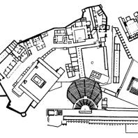 План пергамского акрополя