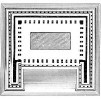 План алтаря Зевса в Пергаме