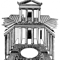 Дом в Ольвии. Реконструкция