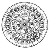 Щит из Кармир-Блура. Реконструкция