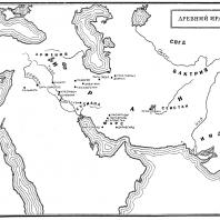 Карта: Древний Иран