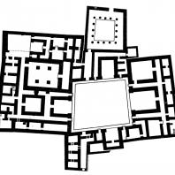 План дворца в Ашшуре