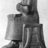 Статуя сидящего Гудеа. Диорит. 22 в. до н. э. Париж. Лувр