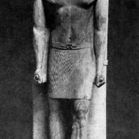 Статуя вельможи Ранофера из его гробницы в Саккара. Известняк. V династия. Середина 3 тыс. до н. э. Каир. Музей