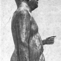 Статуя царевича Каапера. Фрагмент
