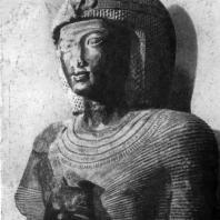 Статуя Рамсеса II. Фрагмент. 13 в. до н. э. Каир. Музей