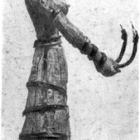 Богиня со змеями. Статуэтка из слоновой кости с золотом. Середина 2 тысячелетия до н. э. Бостон. Музей изящных искусств