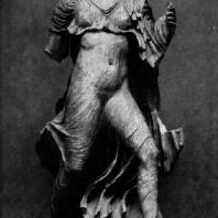 Нереида с Памятника нереид из Ксанфа. Мрамор. Третья четверть 5 в. до н. э. Лондон. Британский музей