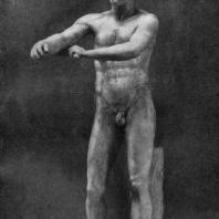 Лисипп. Апоксиомен. Третья четверть 4 в. до н. э. Мраморная римская копия с утраченного бронзового оригинала. Рим. Ватикан