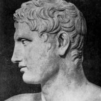 Лисипп. Апоксиомен. Голова. Третья четверть 4 в. до н. э. Мраморная римская копия с утраченного бронзового оригинала. Рим. Ватикан