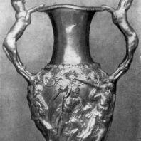 Золотая ваза из Панагюриштского клада. Пловдив. Болгария. Археологический музей