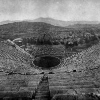 Поликлет Младший. Театр в Эпидавре. Около 330 г. до н. э.