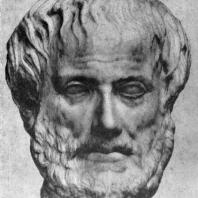 Портрет Аристотеля. Конец 4 в. до н. э. Мраморная римская копия с утраченного оригинала. Вена. Музей
