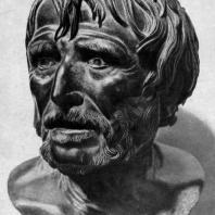 Портрет философа (так называемый Сенека). Бронза. 3—2 вв. до н. э. Неаполь. Национальный музей