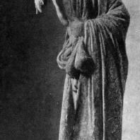Старый учитель. Терракотовая статуэтка из Аттики. Париж. Лувр