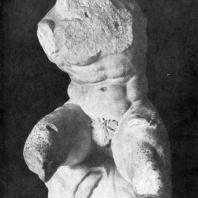 Аполлоний, сын Нестора. Так называемый Бельведерский торс. Мрамор. 1 в. до н. э. Рим. Ватикан