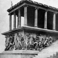Пергамский алтарь. Фрагмент. Около 180 г. до н. э. Берлин