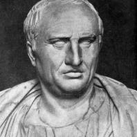 Портрет Цицерона. Мрамор. 1 в. до н. э. Рим. Капитолийский музей