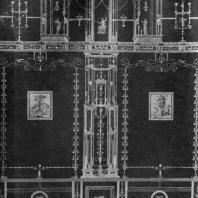 Помпейская роспись третьего стиля. Конец 1 в. до н. э. — начало 1 в. н. э.