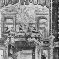Помпейская роспись четвертого стиля из Геркуланума. Третья четверть 1 в. н. э. Неаполь. Музей