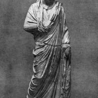 Статуя Неокла, правителя Горгиппии, из Анапы. Мрамор. 187 г. н. э. Москва. Музей изобразительных искусств им. А.С. Пушкина