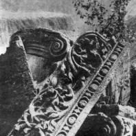 Храм в Гарни (Армянская ССР). Архитектурные фрагменты. 1 в. н. э.