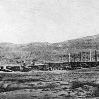 Дворец в Персеполе. Общий вид